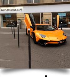 prestige cars paris